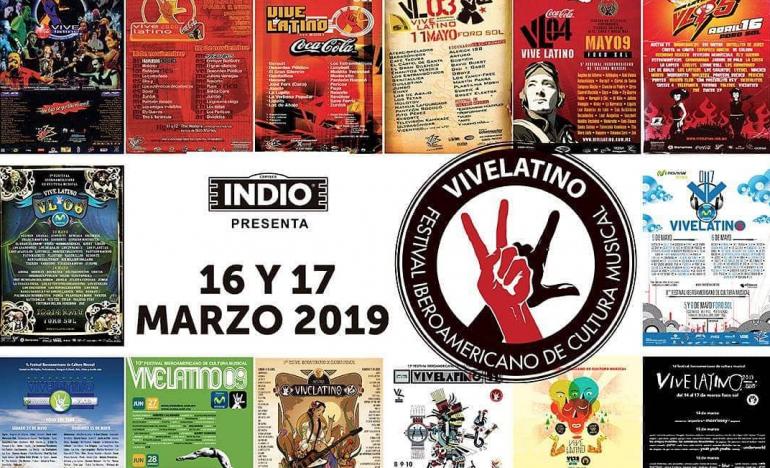 La venta especial del Vive Latino por su 20 aniversario que no te puedes perder