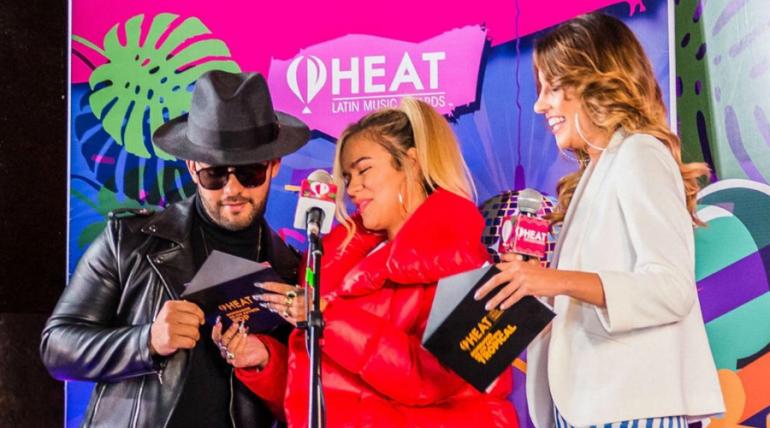 Anuncian lista de nominados para los Premios Heat 2019