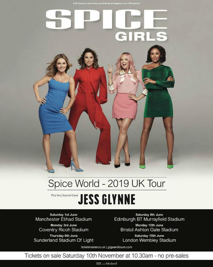 Las Spice Girls anuncian gira del reencuentro ¡sin una de sus integrantes!