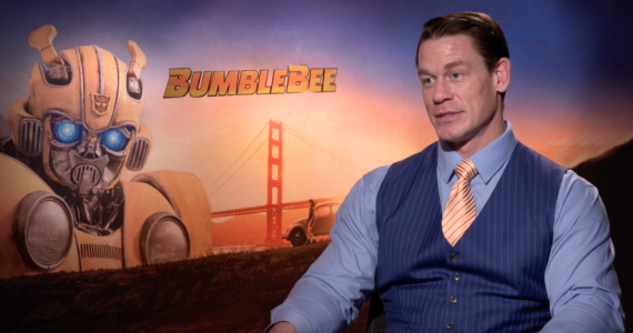 ENTREVISTA: John Cena nos habla de Bumblebee
