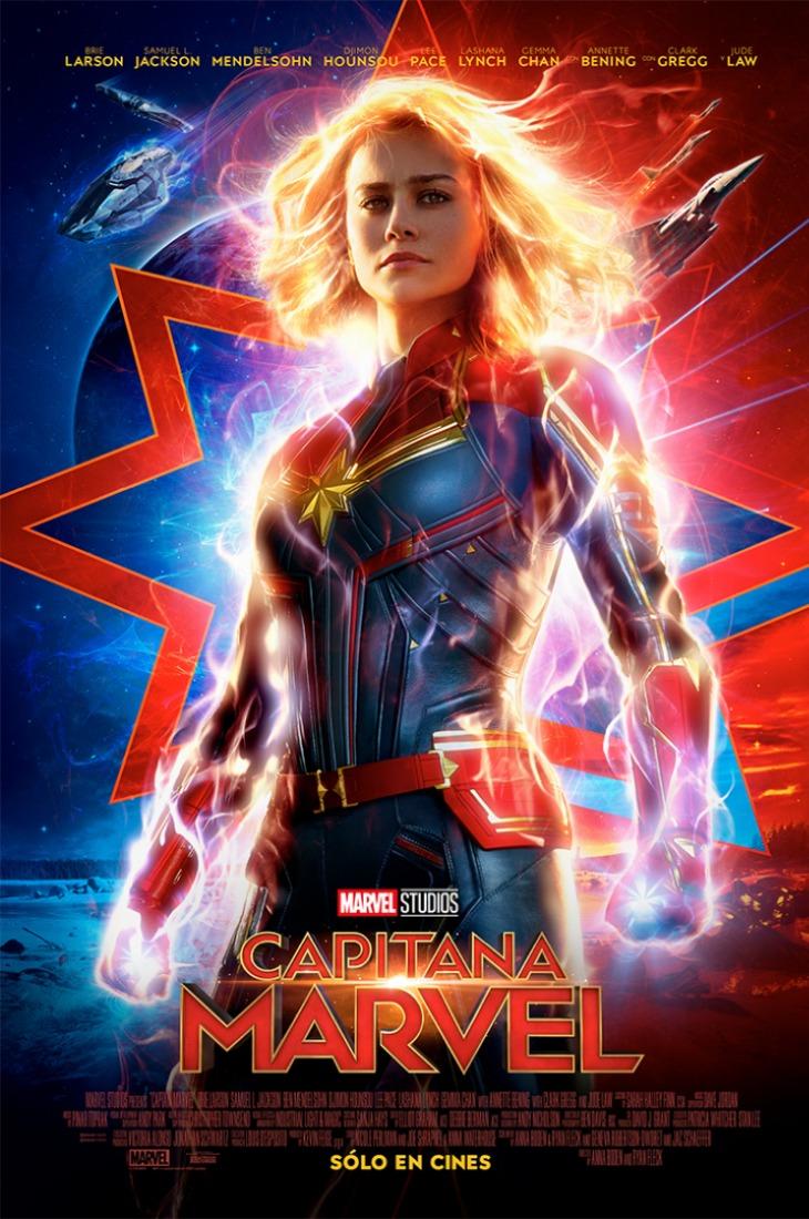 Revelan póster oficial de Capitana Marvel