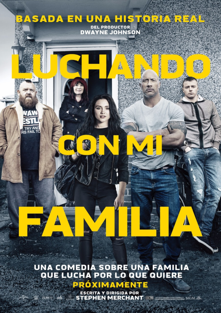 The Rock regresa a la pantalla grande con Fighting with my Family