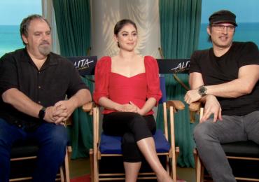 Robert Rodríguez y Rosa Salazar nos cuenta qué fue lo más complicado de filmar Alita