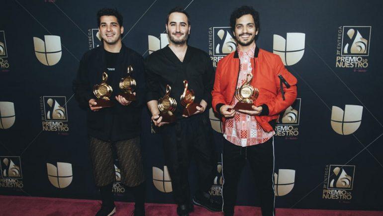 Reik conquista y arrasa con los Premios Lo Nuestro