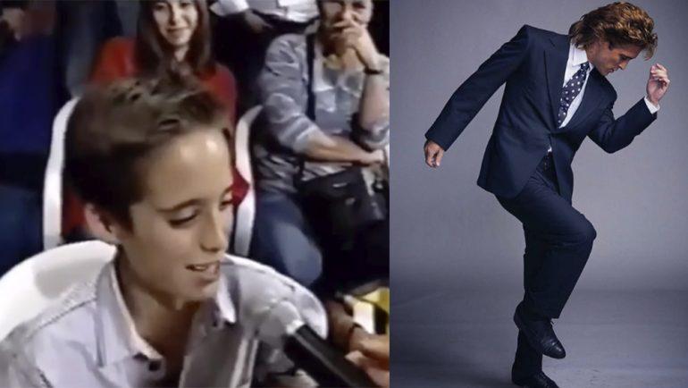 Diego Boneta estaba destinado a interpretar a Luis Miguel, ¡este video lo demuestra!