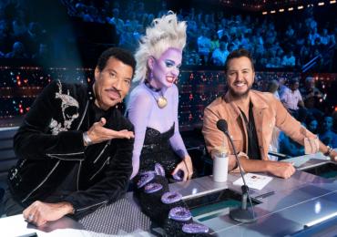 Katy Perry se disfrazó de Úrsula de La Sirenita en American Idol