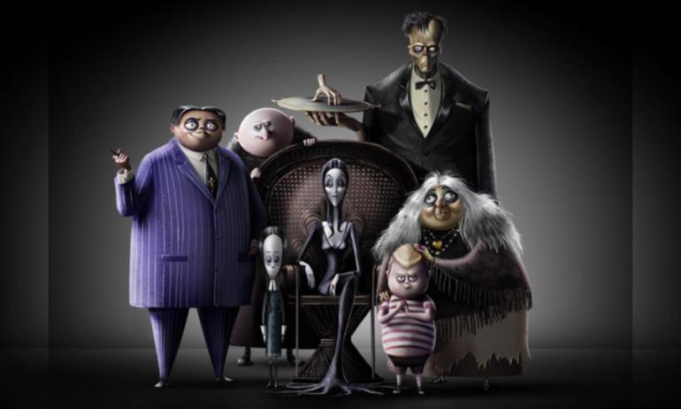 Así lucen Los Locos Addams en la nueva versión para la pantalla grande