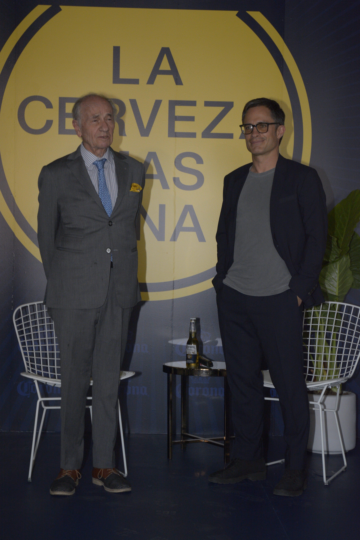Gael Garcia y Pedro Friedeberg se juntan para contar la historia de México | Foto: Jaime Nogales