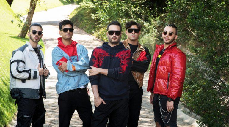 Reik, Manuel y Julián Turizo. Foto: Sony Music