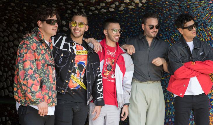 Reik, Manuel y Julián Turizo, video Aleluya. Foto: Sony Music