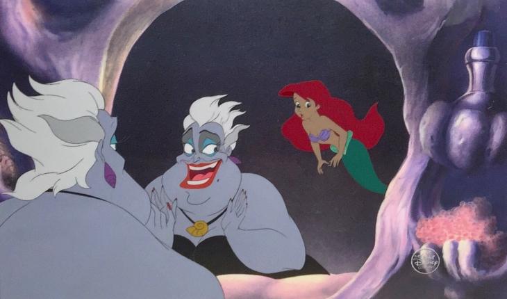 Escena de La Sirenita (1989). Foto: Disney