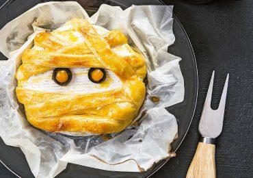 Momia de queso brie